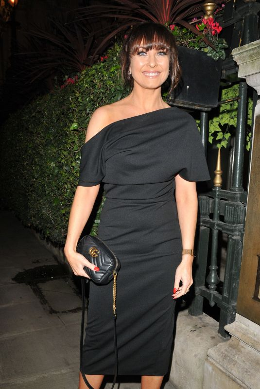 Emma Barton At The Radio Times Covers Party, London