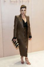 Emma Marrone At Fendi show, Front Row, Fall Winter 2020, Milan Fashion Week, Italy