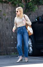 Emma Roberts Heading to a meeting in Hollywood