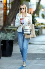 Emma Roberts Out in West Hollywood
