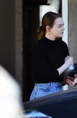 Emma Stone and Dave McCary enjoy a couples workout in West Hollywood
