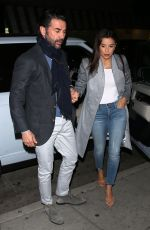 Eva Longoria and Jose Baston enjoy dinner at Mr. Chow in Beverly Hills