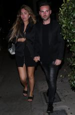 Farrah Abraham Holds hands with new boyfriend Daniel Ishag while heading to dinner at Zinque in West Hollywood