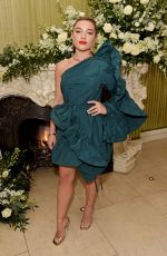 Florence Pugh At BAFTA Vogue x Tiffany Fashion and Film afterparty in London