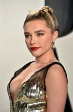 Florence Pugh At Vanity Fair Oscar Party in Beverly Hills