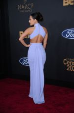 Francia Raisa At 51st NAACP Image Awards in Pasadena