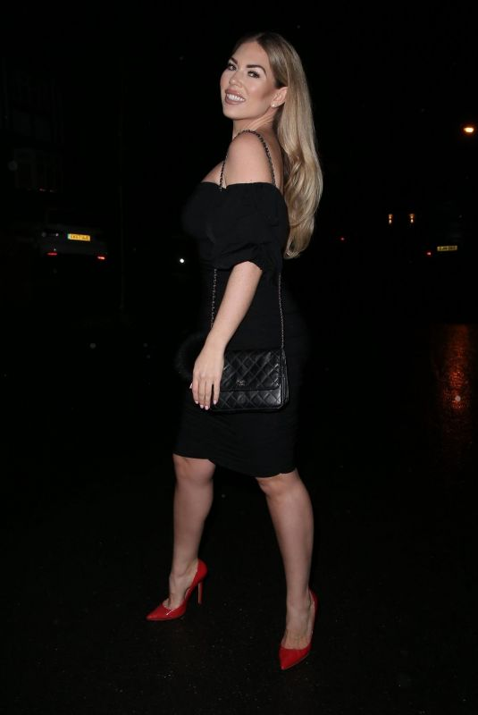 Frankie Essex Goes to Sheesh restaurant in Chigwell