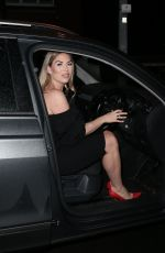 Frankie Essex Heading to Sheesh restaurant in Chigwell