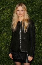 Freya Allan At Charles Finch and Chanel pre-Bafta party