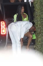Gabrielle Union and Dwayne Wade are seen at the Chateau Marmont for Jay-Z and Beyonce