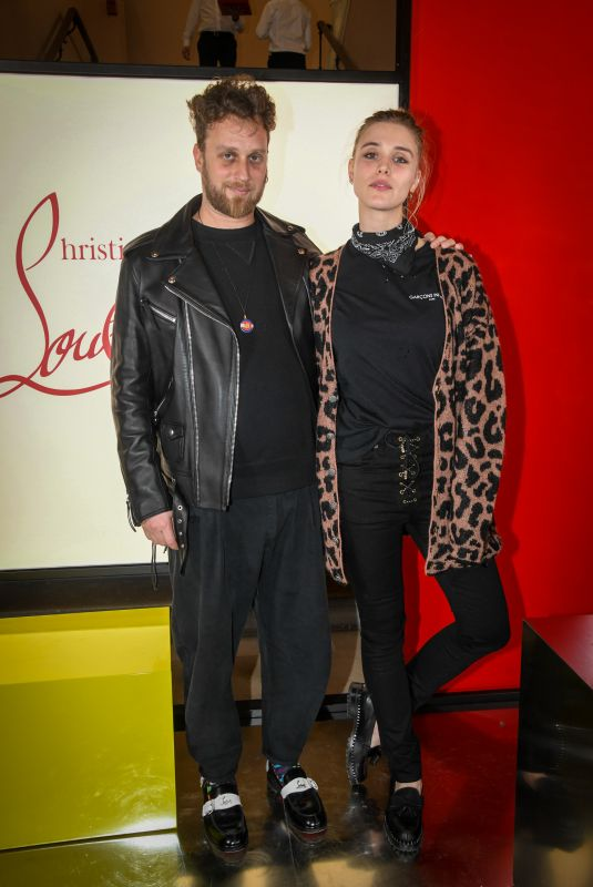Gaia Weiss At Christian Louboutin Event as part of Paris Fashion Week