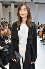 Gemma Chan At Max Mara show, Front Row, Fall Winter 2020, Milan Fashion Week, Italy