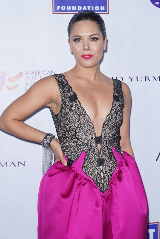 George Maple At 2020 American Australian Association Arts Awards at the Skylight Modern in New York
