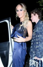 Gigi Gorgeous and spouse Nats Getty attend Cadillac Celebrates Oscar Week 2020 Party at Chateau Marmont in Hollywood