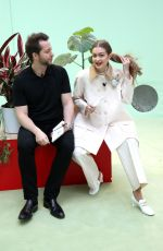 Gigi Hadid Attends the LVMH Prize 2020 - Designers Presentation