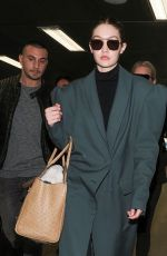 Gigi Hadid Is seen at the airport