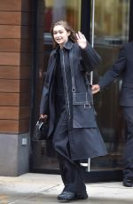 Gigi Hadid Leaving her apartment in NYC