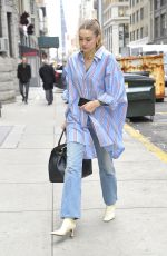 Gigi Hadid Pictured Stepping out in New York City