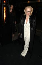 Gillian Anderson At Charles Finch and Chanel Pre-BAFTA Party in London