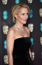 Gillian Anderson At EE British Academy Film Awards 2020 in London