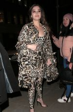 Hailee Steinfeld Arriving at the Love Magazine Party in London