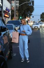 Hailey Baldwin Spotted at sexy lingerie store Agen Provocateur in Hollywood