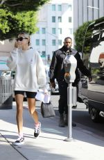 Hailey Bieber & Justin Bieber Arriving for a spa session for Valentine