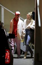 Hailey Bieber & Justin Bieber Attend their weekly church service at Hillsong in Los Angeles