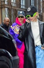 Hailey Bieber & Justin Bieber Head out to the NBC Studios for Justin