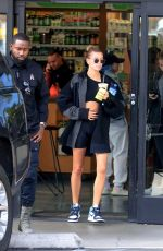 Hailey Bieber Leaves a Hot Pilates class in West Hollywood