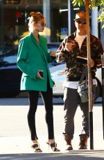 Hailey Bieber Out with her dad in Hollywood