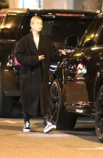 Hailey Bieber Steps out to get a new tattoo in Hollywood