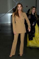 Haley Kalil At Pamella Roland show, Front Row, Fall Winter 2020, New York Fashion Week