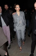 Hana Cross Arrives at the Love Magazine LFW Party in London
