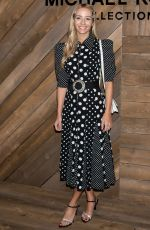 Harley Viera-Newton At Michael Kors Collection Fall/Winter 2020 Runway Show - February 2020 during New York Fashion Week