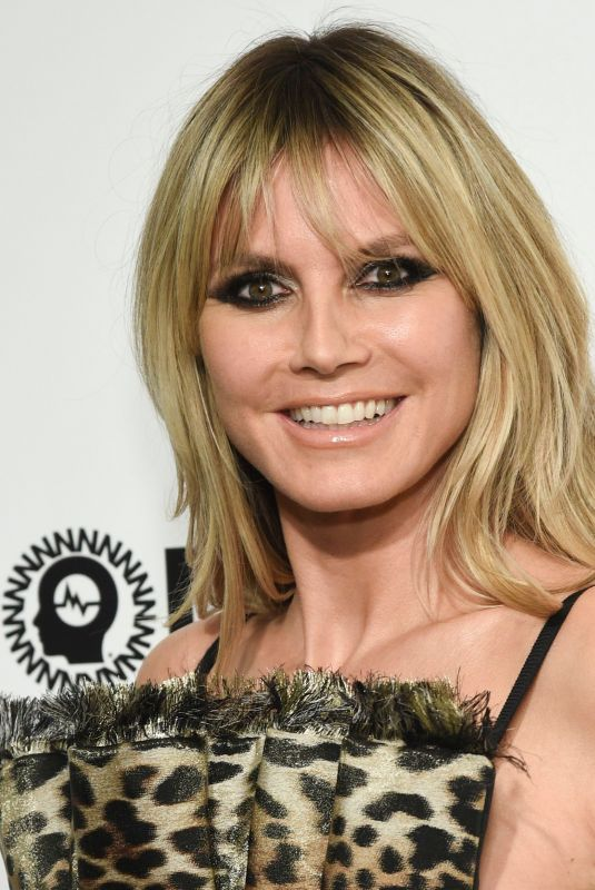 Heidi Klum At Elton John AIDS Foundation Oscar Viewing Party in West Hollywood