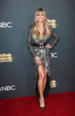 Heidi Klum Attends Americas Got Talent: The Champions Red Carpet in Los Angeles