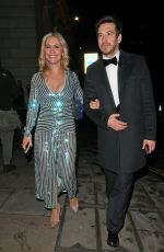 Heidi Range At 40th Brit Awards, After party, London