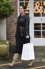 Helen Flanagan At The Valentines Ladies Lunch at Arighi Bianchi in Macclesfield in Cheshire