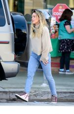 Hilary Duff Out shopping in Studio City