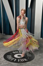 Hunter Schafer Attends the 2020 Vanity Fair Oscar Party in Beverly Hills