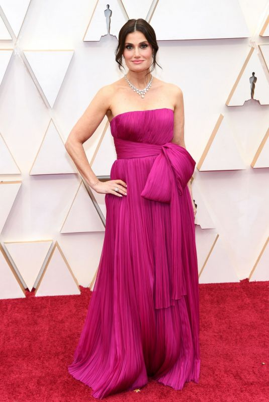 Idina Menzel At 92nd Annual Academy Awards at Hollywood and Highland in Hollywood