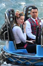 Ireland Baldwin and her boyfriend Corey Harper spend a fun day out at Disneyland