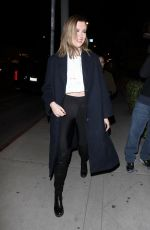 Ireland Baldwin Arrives at the Marcell Von Berlin Flagship Store in Los Angeles