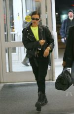 Irina Shayk At JFK Airport in New York