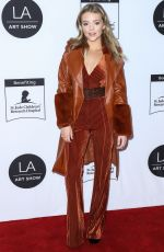 Jade Pettyjohn Arrives at the 2020 LA Art Show Opening Night in Los Angeles