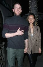 Jamie Chung At madeo restaurant in Beverly Hills