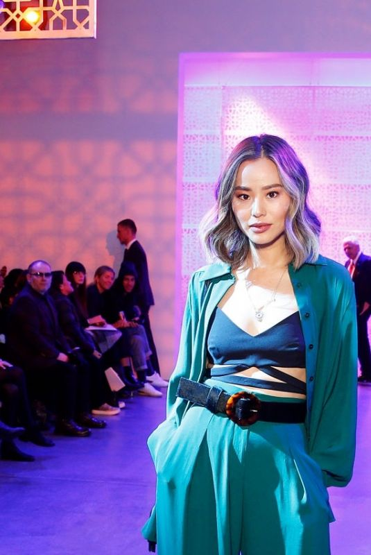 Jamie Chung Attends the Noon By Noor during New York Fashion Week