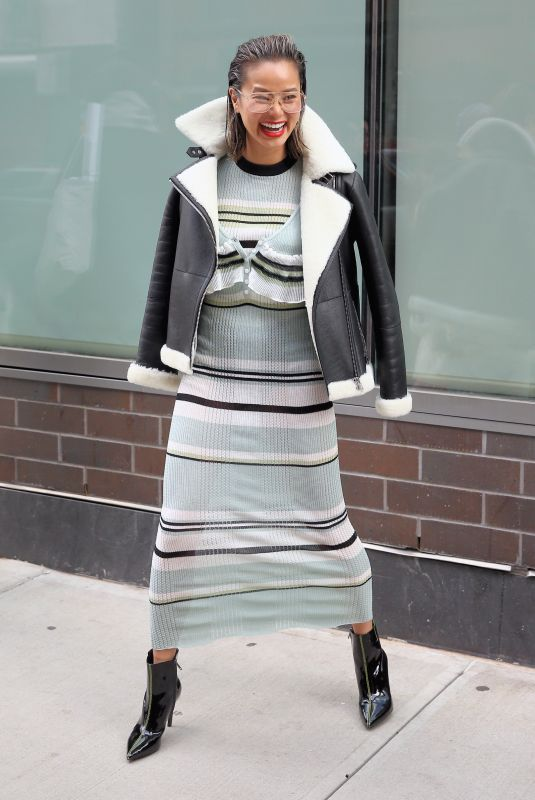 Jamie Chung During New York Fashion Week in New York City