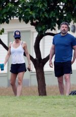 Jennifer Garner and Ben Affleck take a stroll together in Hawaii after reuniting as a family for Easter